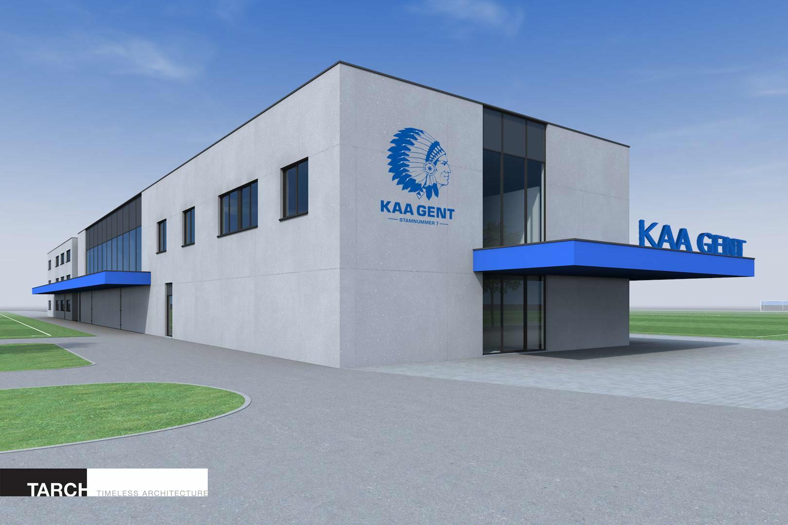 Gloednieuw Oefencomplex KAA Gent officieel geopend