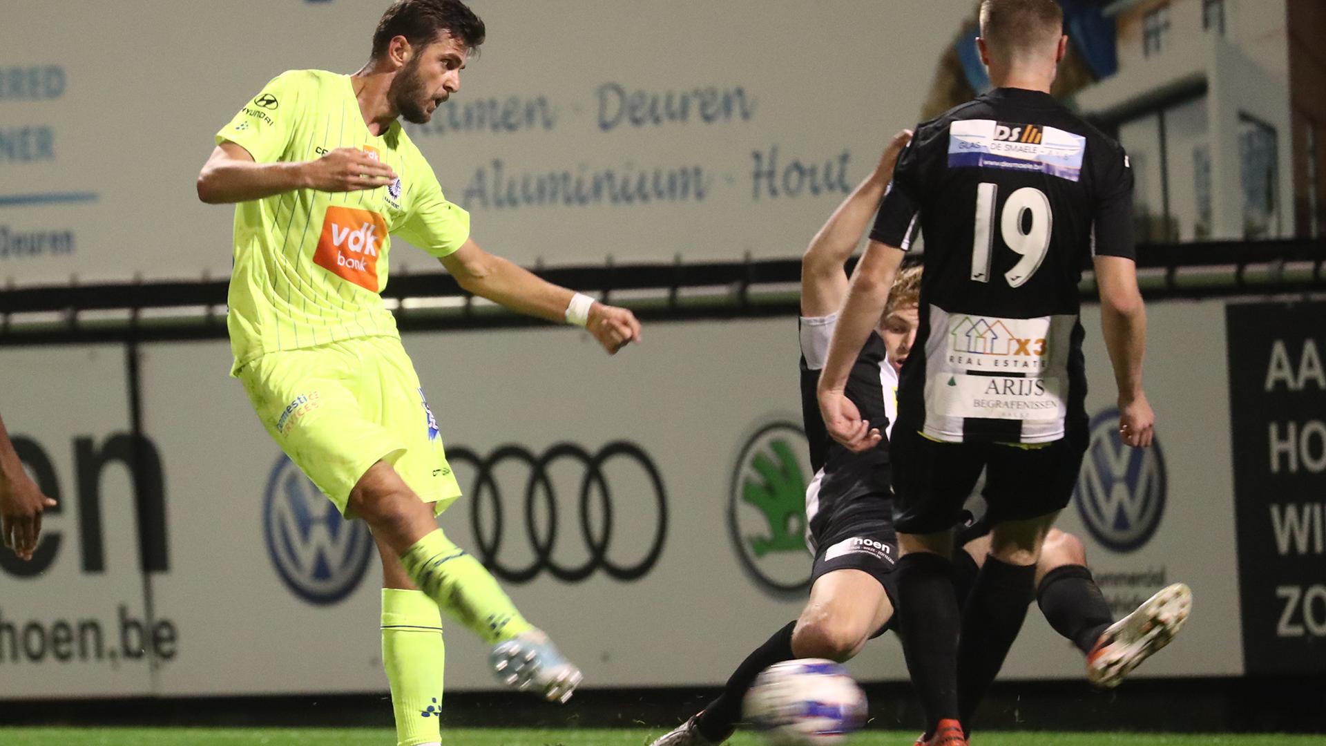 KAA Gent bekert verder na vlotte 0-4 in Aalst