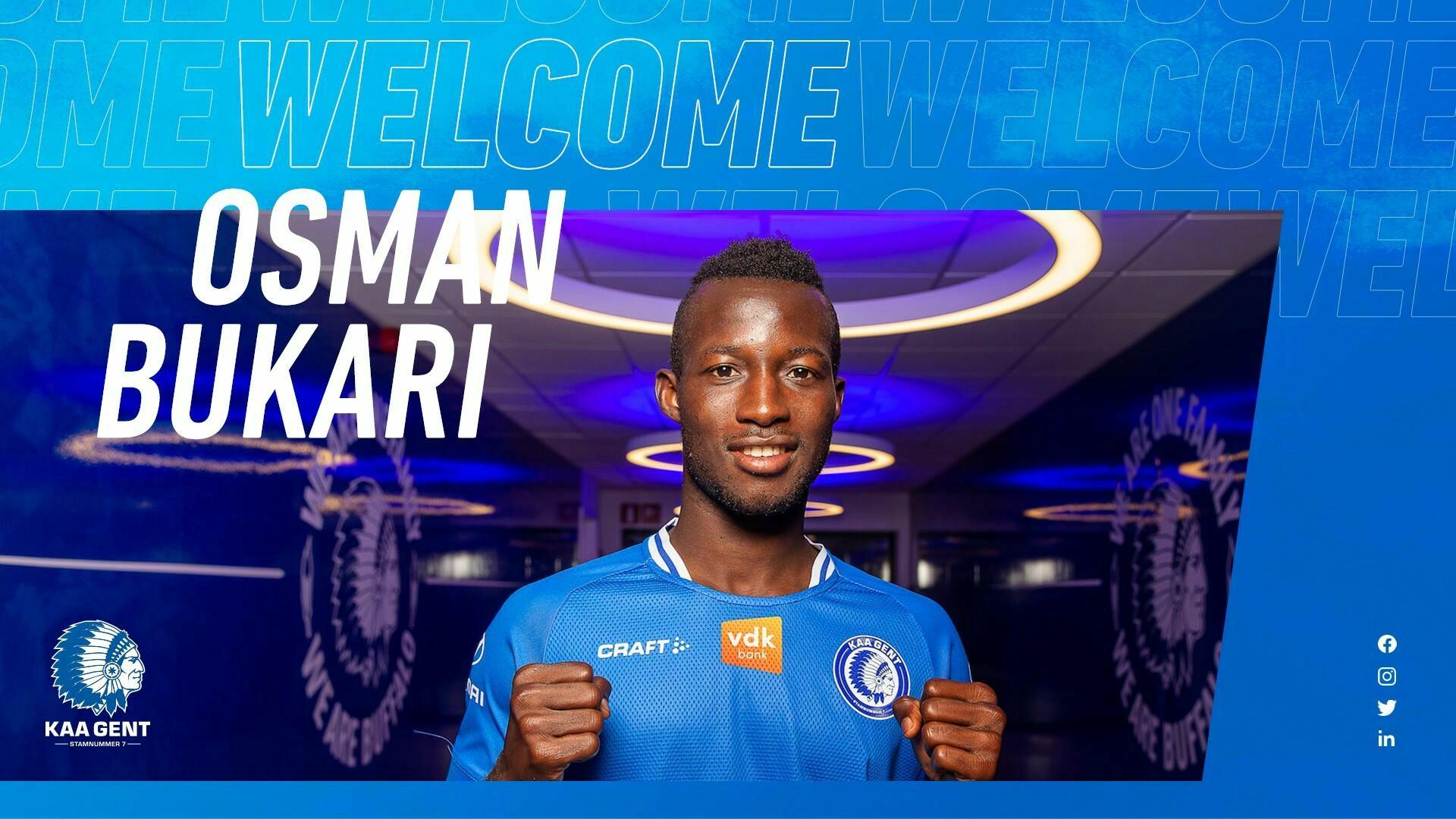 Welkom Osman!