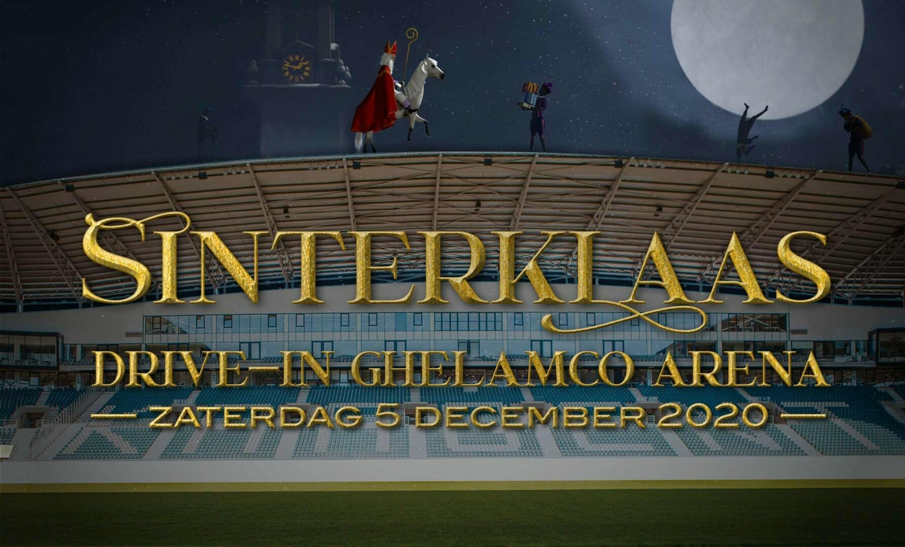 De Sint Drive-In in de Ghelamco Arena!