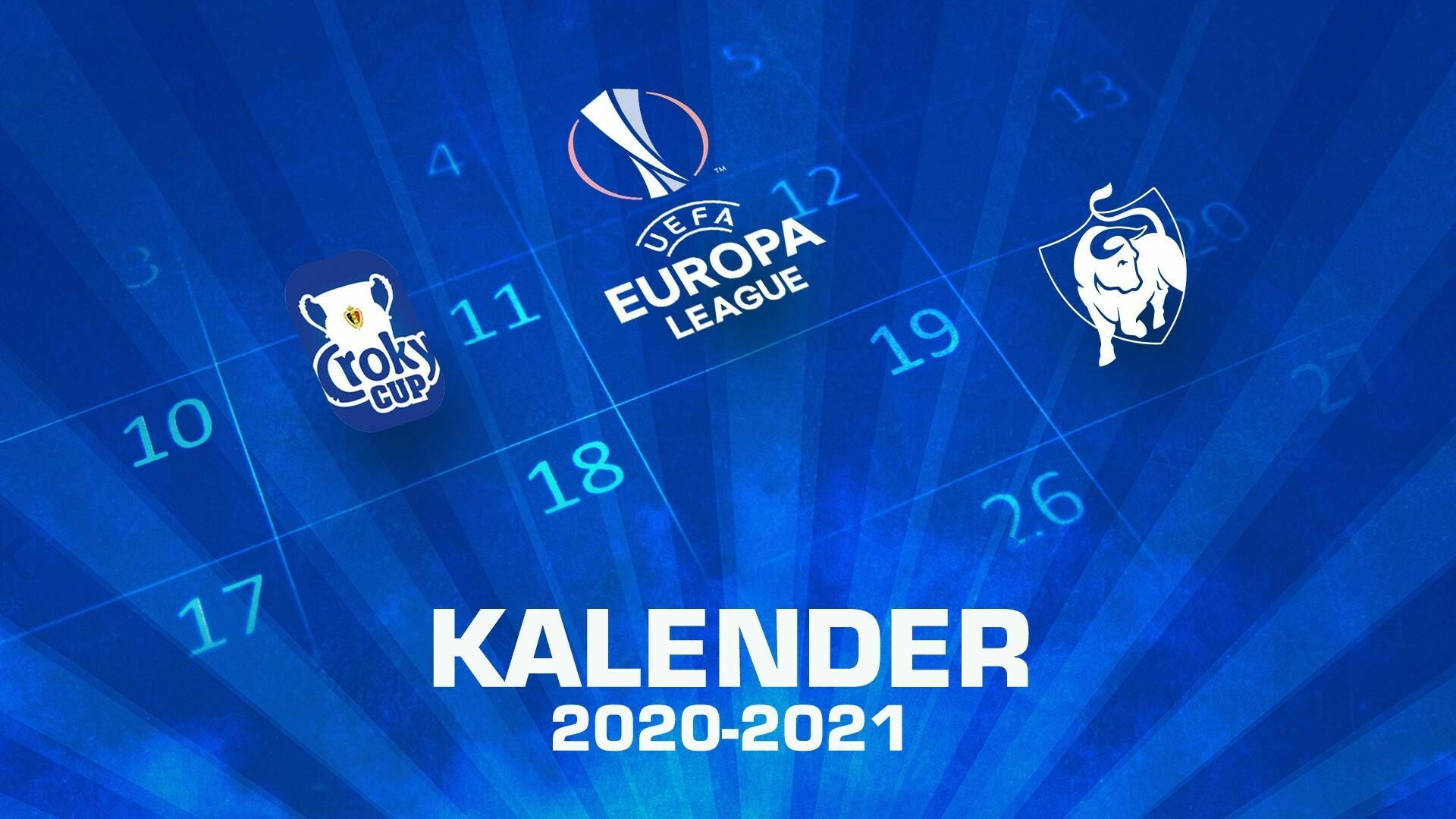 Kalenderwijziging Croky Cup en Jupiler Pro League