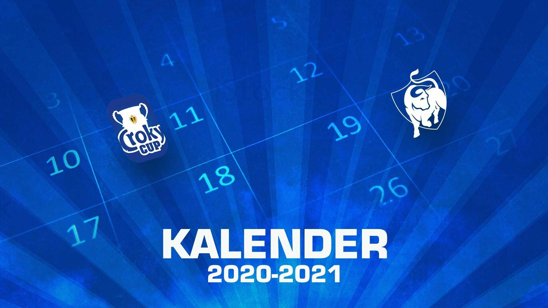 Kalenderupdate Beker van België en speeldagen 24 t.e.m. 28