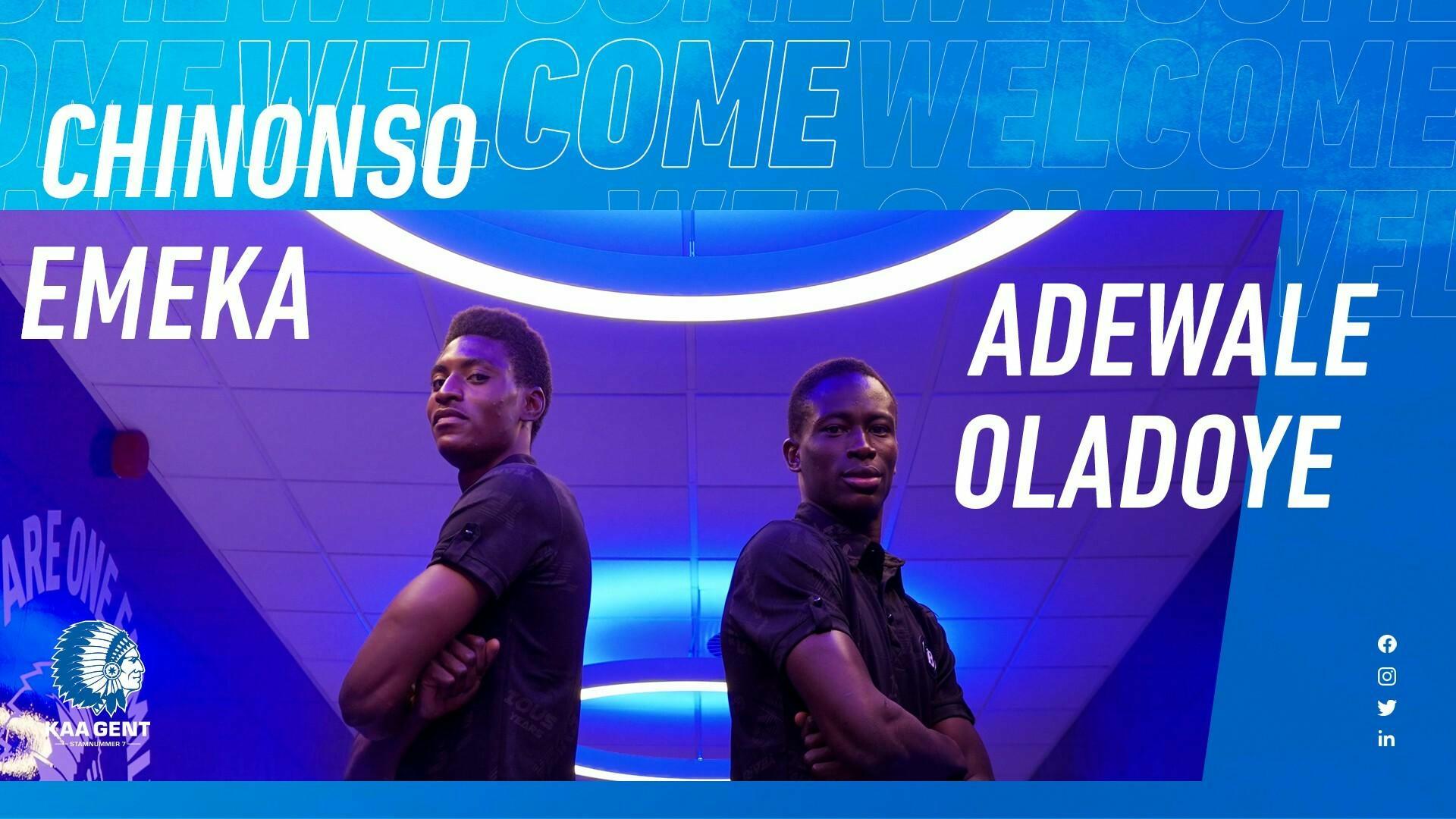 Welkom Oladoye en Emeka