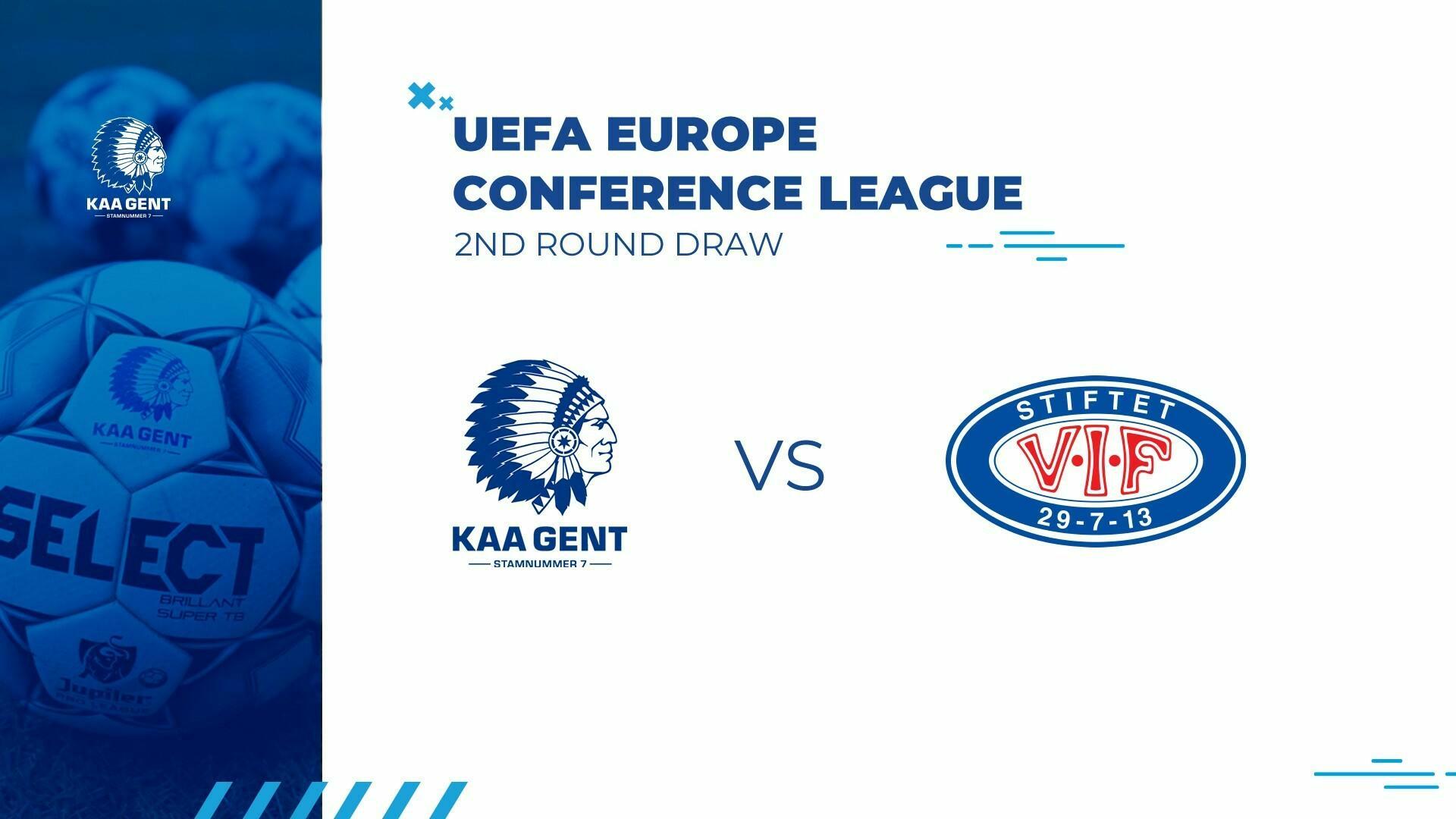 KAA Gent loot Vålerenga in 2e voorronde Conference League