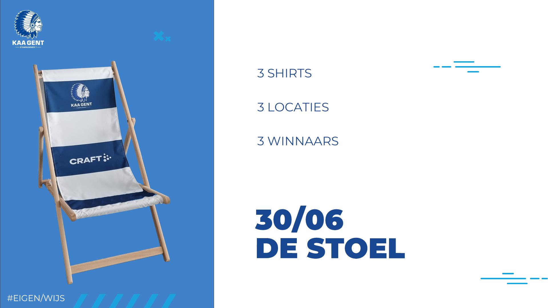 30/06 - De Stoel