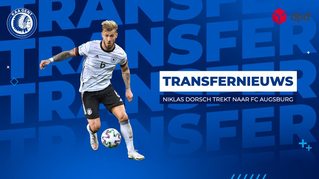 Niklas Dorsch trekt naar FC Augsburg