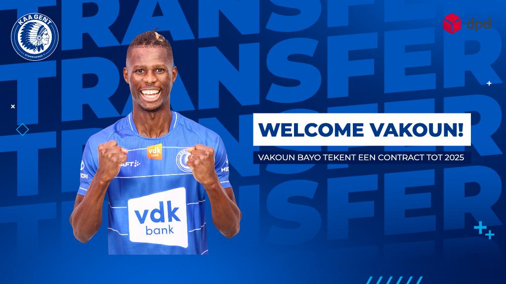 Welcome Vakoun Bayo!