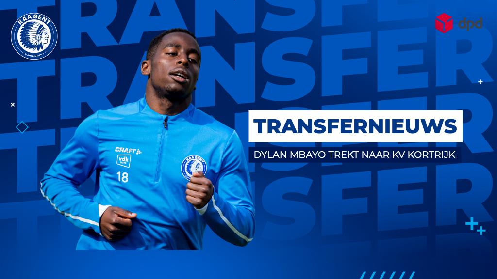 Dylan Mbayo trekt naar KV Kortrijk