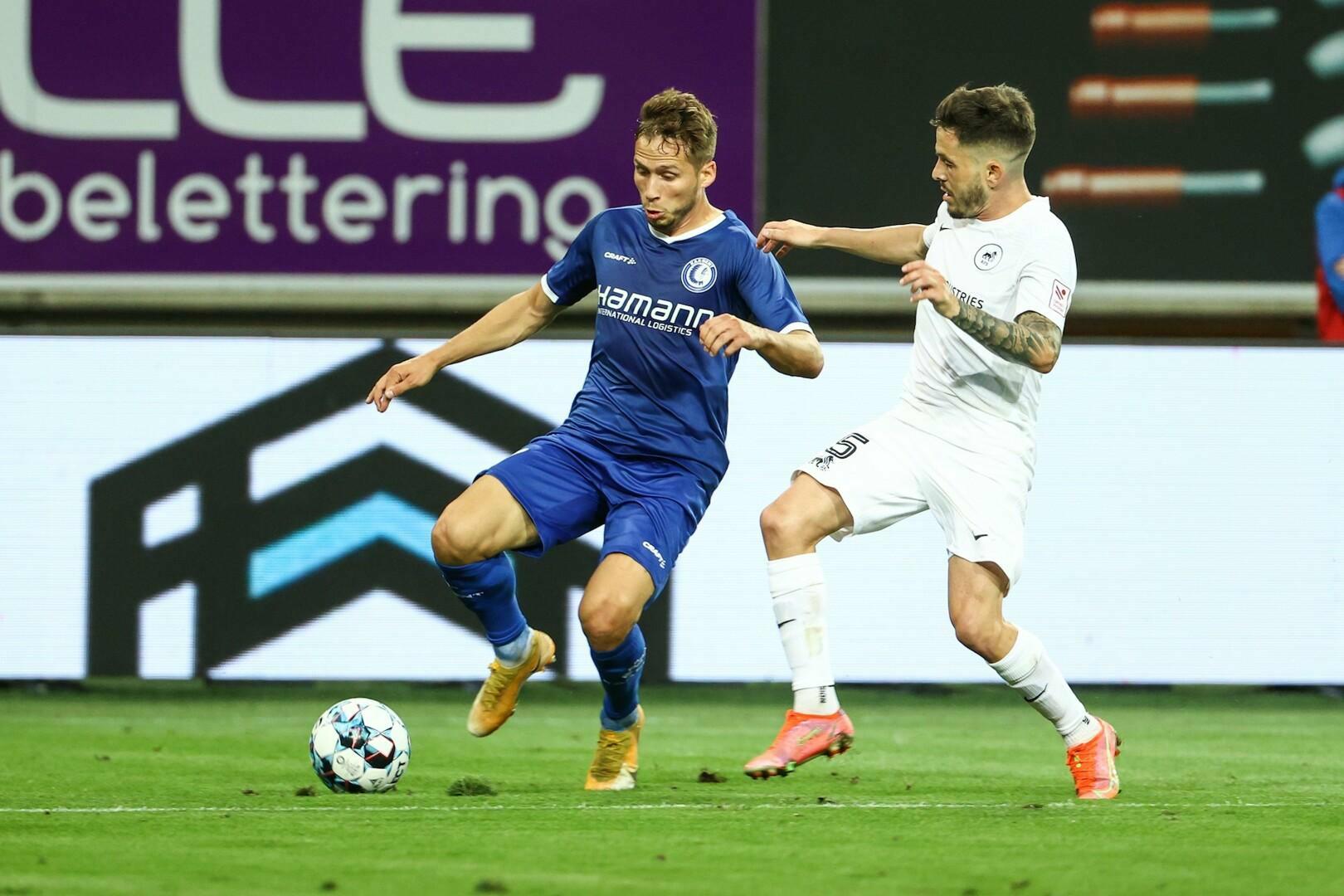 Gent speelt 2-2 gelijk tegen RFS