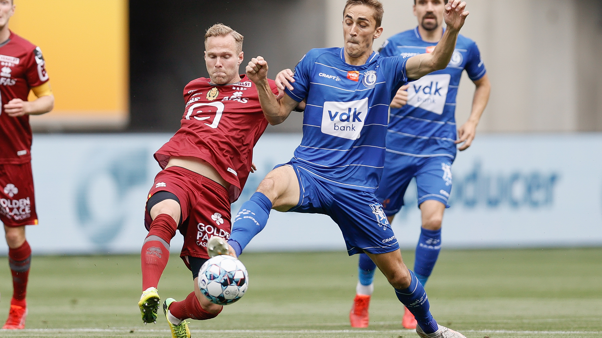 Gent boekt eerste driepunter tegen Mechelen