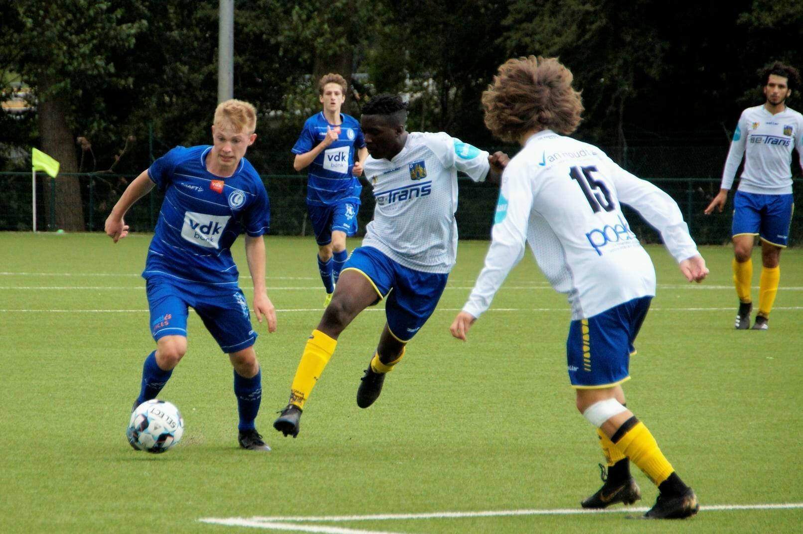 Zaterdag 28/08/2021  14.30hr.   KAA GENT U18 – KVC WESTERLO U18     3 – 2