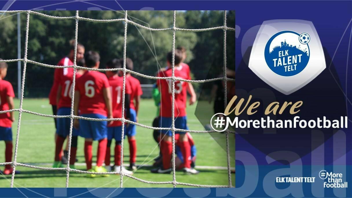 #MoreThanFootball: Elk Talent Telt