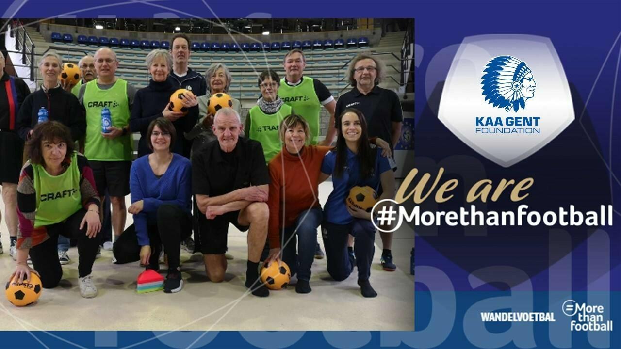 #MoreThanFootball: Wandelvoetbal
