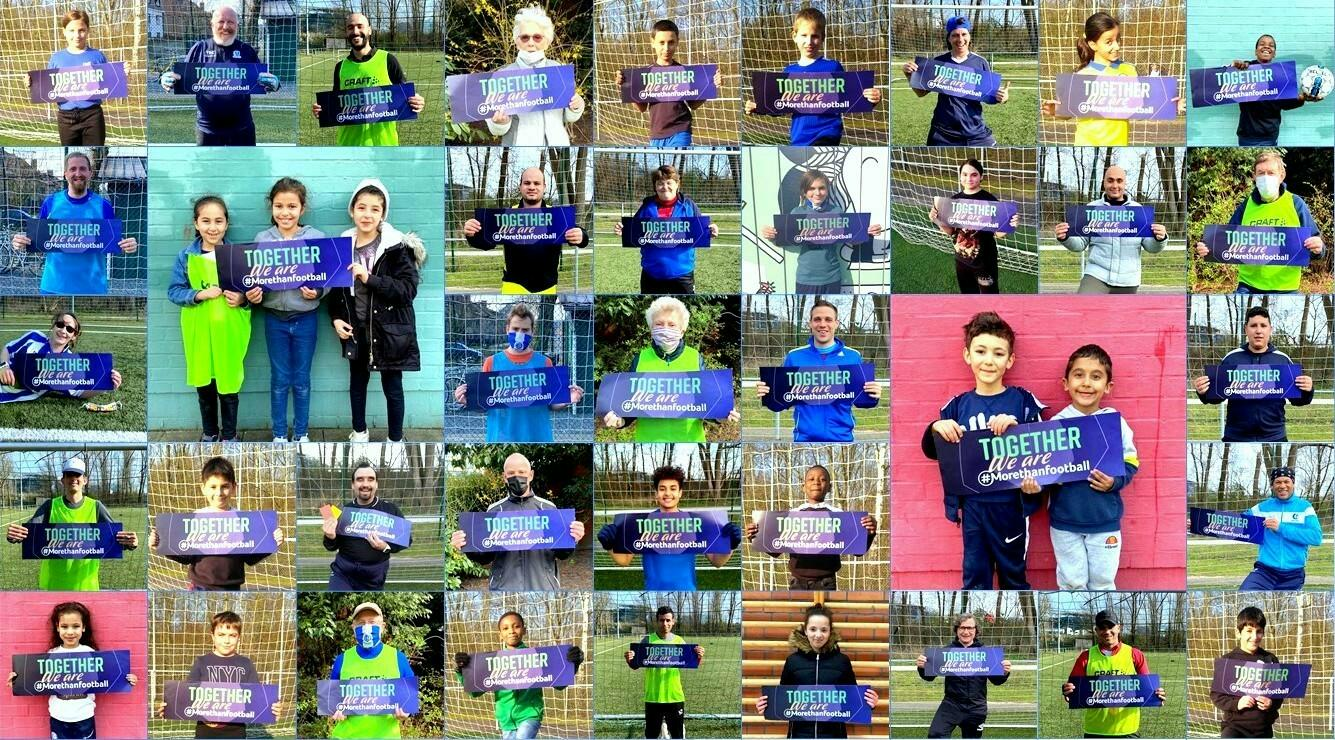 #MoreThanFootball: allemaal Gent