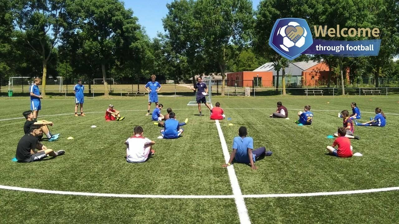 Welcome Through Football: welkom in Gent