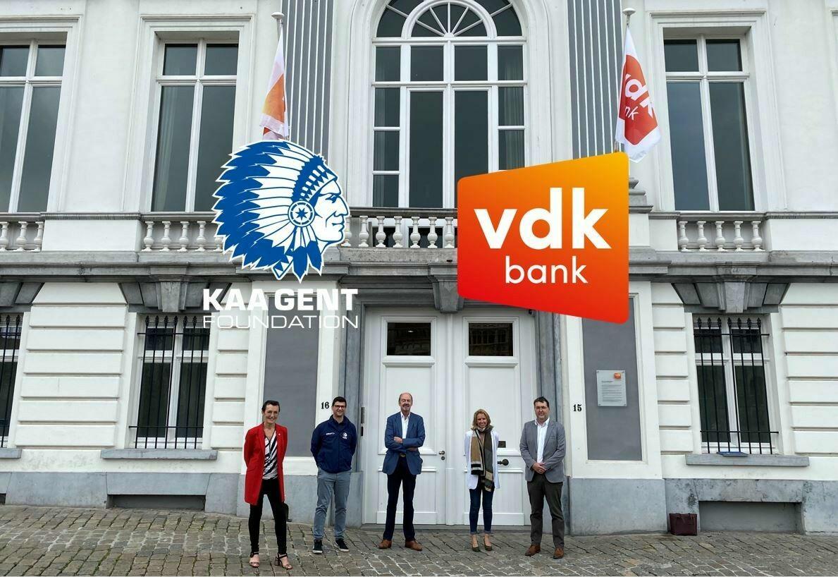 vdk bank wordt partner van de KAA Gent Foundation