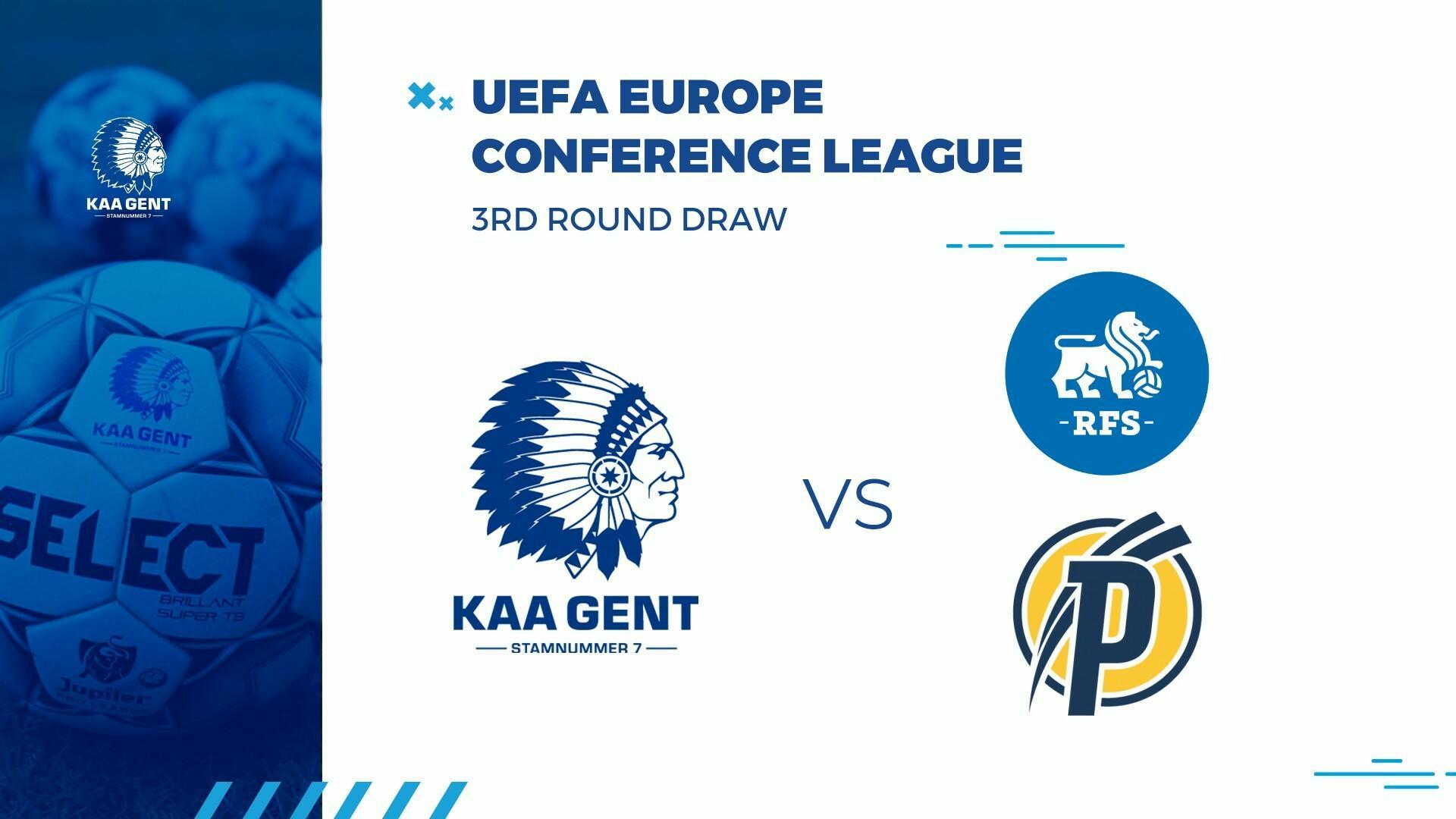 KAA Gent loot RFS of Puskás Akadémia in 3e voorronde Conference League