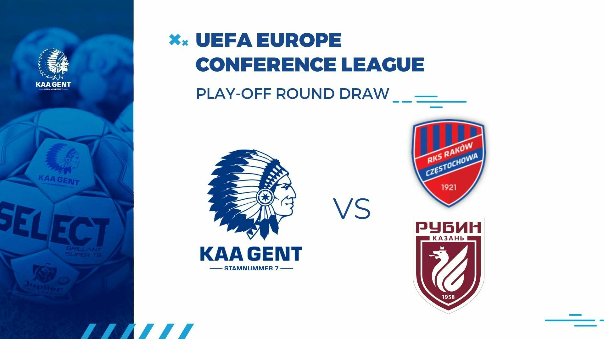 Raków Czestochowaof FC Rubin Kazan mogelijke tegenstander in play-off ronde Conference League