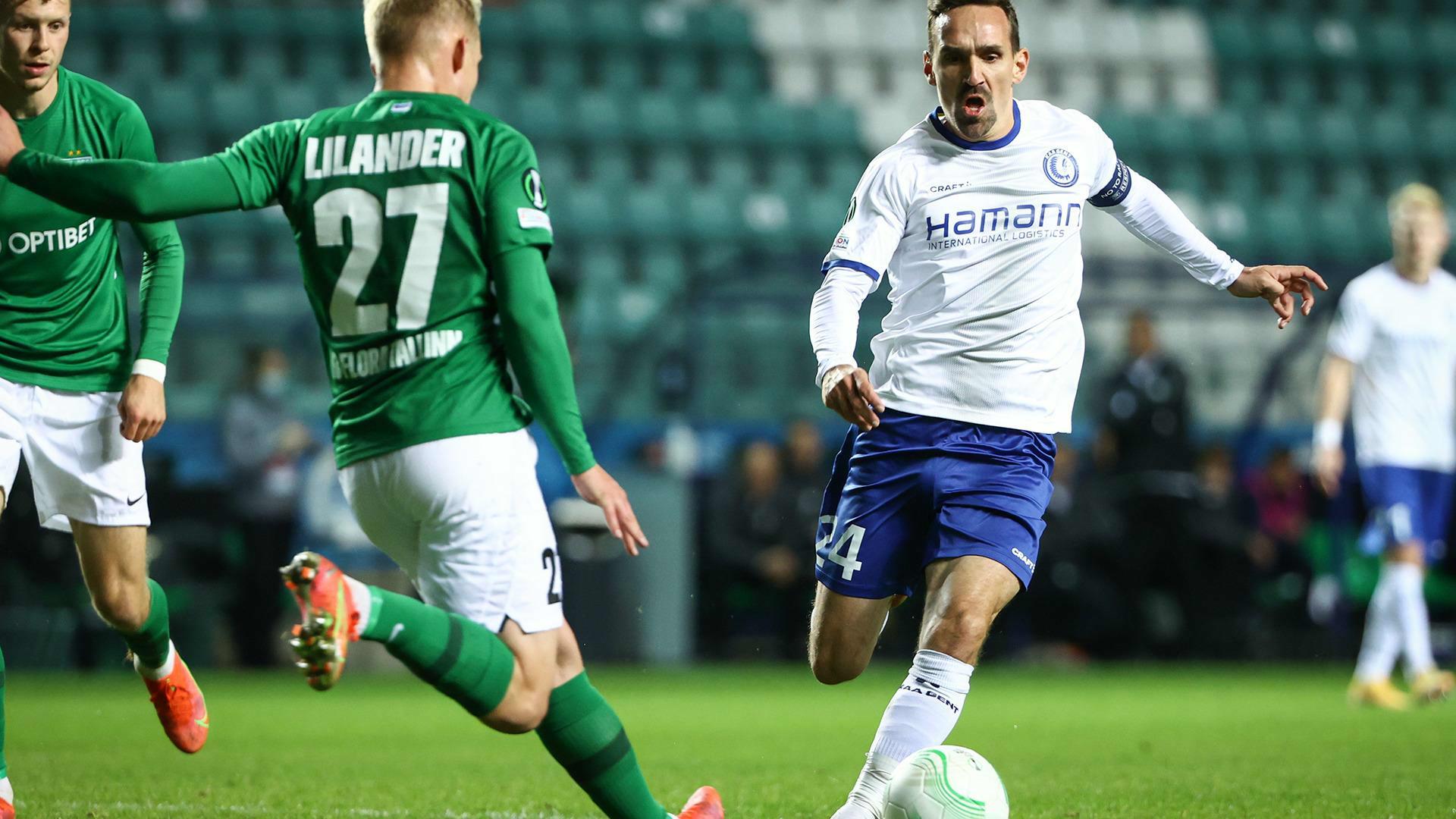 Gent start Conference League groepsfase met driepunter in Tallinn