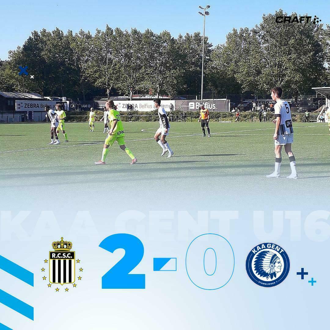 U16 I Charleroi - KAA Gent 2-0