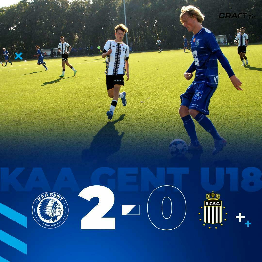 U18 I KAA Gent - Charleroi 2-0