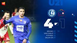 U21 KAA Gent – SV Zulte-Waregem (4-1)